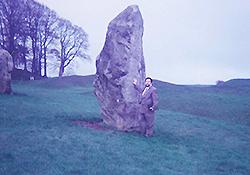 イギリスにて巨石スポットの調査