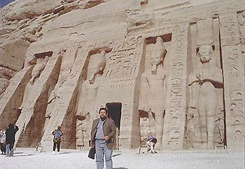 エジプトにて研究旅行